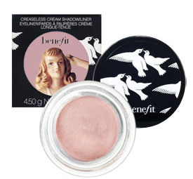 New Product Alert: Creaseless Cream Shadow/Liner by Benefit Cosmetics