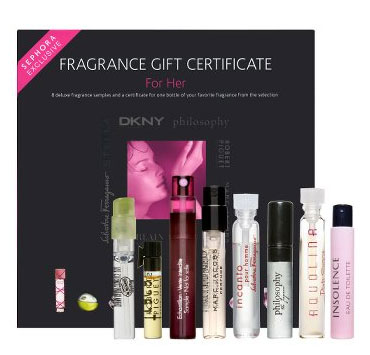 Friday Giveaway! Sephora Fragrance Gift Certificate for Her