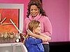 Oprah Chops Off Hilary Swank's Hair