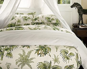 TROPICAL PRINT: Pottery Barn