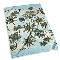 TROPICAL PRINT: beach towel