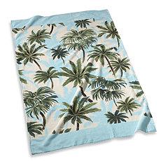 TROPICAL PRINT: beach towel