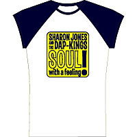 Clothing - Daptone Women Tee Shirts - Sharon Jones and The Dap-Kings<br>Soul with a Feeling Tee - G1080