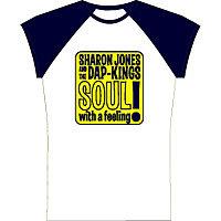 Clothing - Daptone Women Tee Shirts - Sharon Jones and The Dap-Kings<br>Soul with a Feeling Tee - G1080