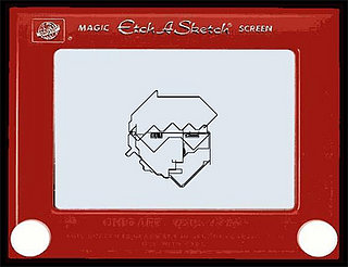 Website of the Day: Online Etch-a-Sketch