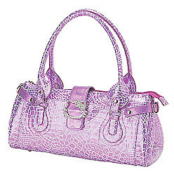 Hello Kitty Shoulder Tote: Croc