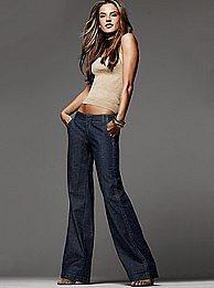 Victoria's Secret - NEW! The Marisa Fit Trouser Jean in non-stretch