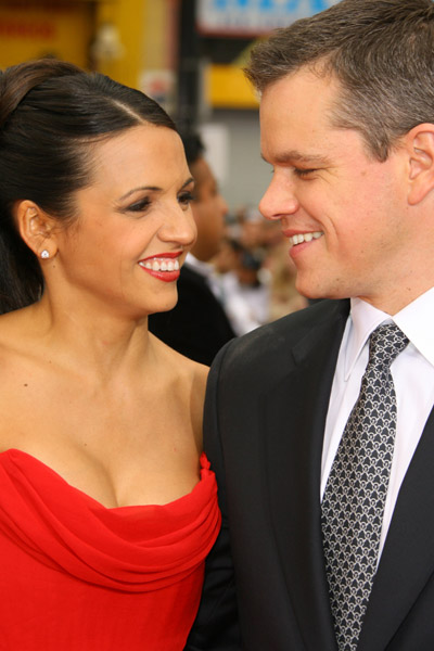 Matt Damon's Wife Pregnant Again?