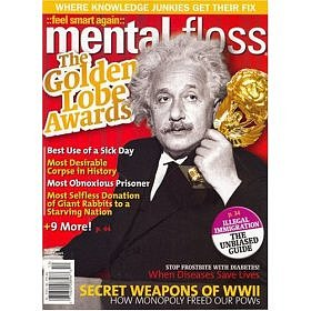 Gift Ideas Under $20: Mental Floss Magazine Subscription