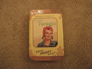 User Review: MotoLinz on Filthy Farmgirl Sassy Oatmeal Honey Soap
