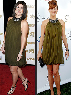 Who Wore This Better- Kelly Clarkson or Kate Walsh??