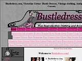 Bustledress.com, Victorian Gowns- Bustle Dresses, Antique Dress, Vintage clothing