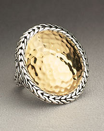 John Hardy Palu Large Round Ring    Statement Rings   Neiman Marcus