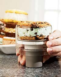 Ice Cream Sandwich maker - The Pampered Chef