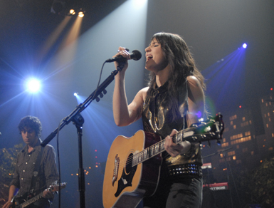 Review: KT Tunstall at The Fillmore in NYC 9/19/07