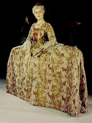 Georgian Dress - Woman