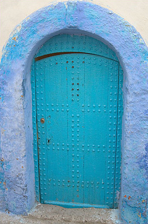 Mediterranean Blue Doors