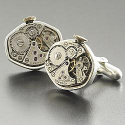 For Him:: RedEnvelope - watch movement cuff links