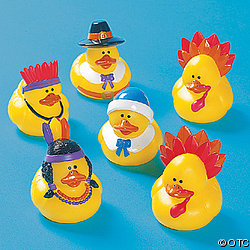 Thanksgiving Rubber Duckies