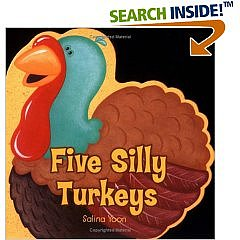 Amazon.com: Five Silly Turkeys
