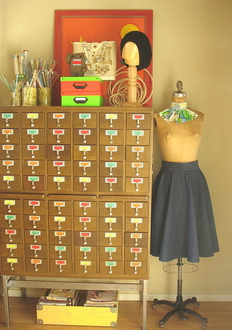 Midday Muse: Card Catalog Envy