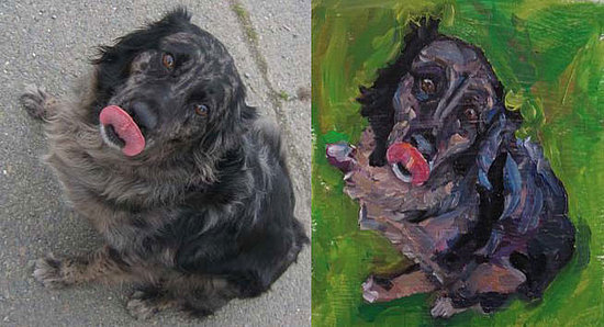 Commissioning a Painting...of Your Dog