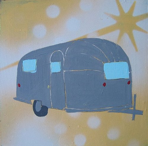 Steal of the Day:  Original Airstream Artwork