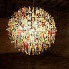 Stuart Haygarth&#039;s Found Object Chandeliers