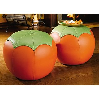 Love It or Hate It? Robust Pumpkin Ottoman