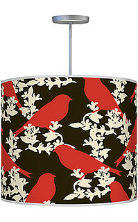 Crave Worthy:  Thomaspaul Goldfinch Red Pendant Lamp