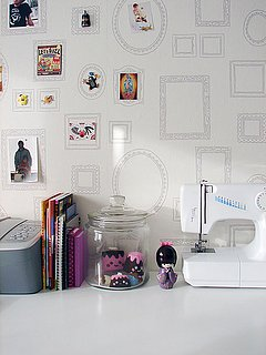 DIY: Magnetic Frames Inspiration Board