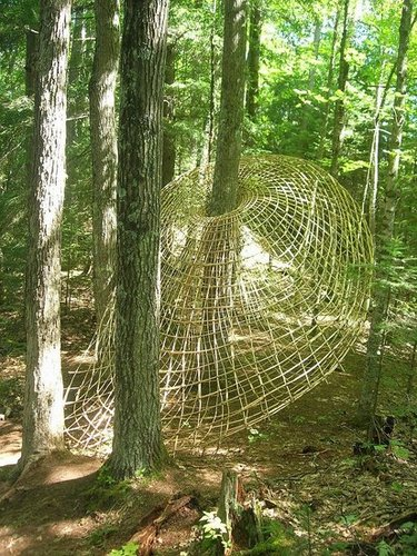Midday Muse:  Tree Weaving