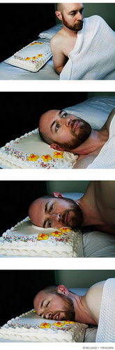 Don't Try This at Home:  Cake Pillow