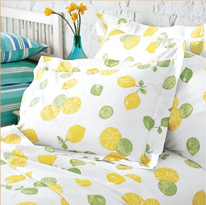 Steal of the Day: The Company Store, Lemons and Limes Bedding