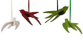 Deck the Haus:  Branch Home Felted Birds