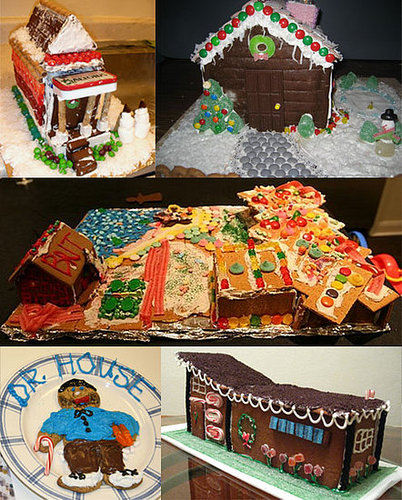 Which Sugar Gingerbread House Is Your Favorite?