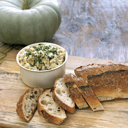 Roasted Artichoke Dip with Country Bread