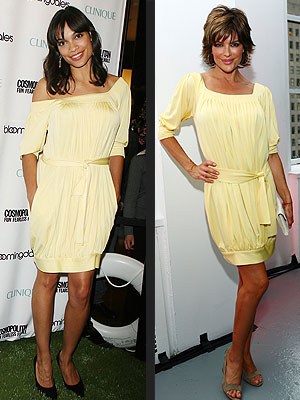 Fashion Faceoff: Lisa Rinna vs. Rosario Dawson