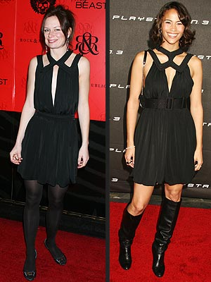 Fashion Faceoff: Mary Lynn Rajskub vs. Paula Patton