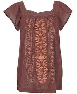 Forever21.com - Embroidered Tunic