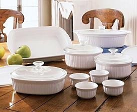 Macy*s - Corningware Just for You French White 15-Piece Set