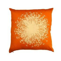 "Target : Dandelion Field Silk Pillow - Orange (16.5x16.5"")"
