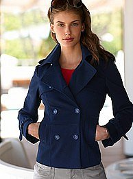 Victoria&#039;s Secret - Double-breasted peacoat
