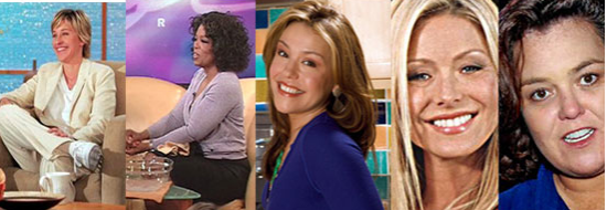 Who Is Your Favorite Female Talk Show Host?
