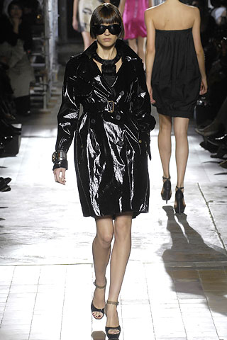 Sugar Shout Out - Get The Patent Leather Trench Coat Look for Less