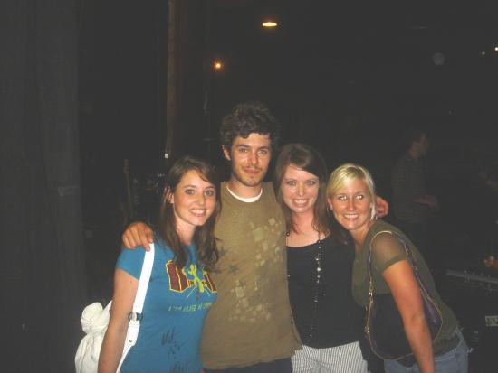 Celebrity Sighting Of The Day: Backstage With Adam Brody