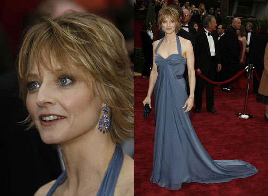 Oscars Red Carpet: Jodie Foster