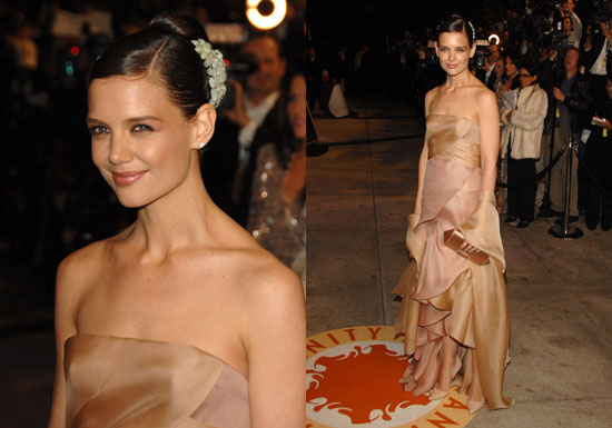 Vanity Fair Oscar Party: Katie Holmes