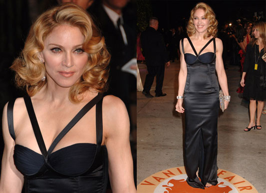 Vanity Fair Oscar Party: Madonna