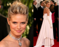 The Golden Globes Red Carpet: Heidi's Diamond Locket